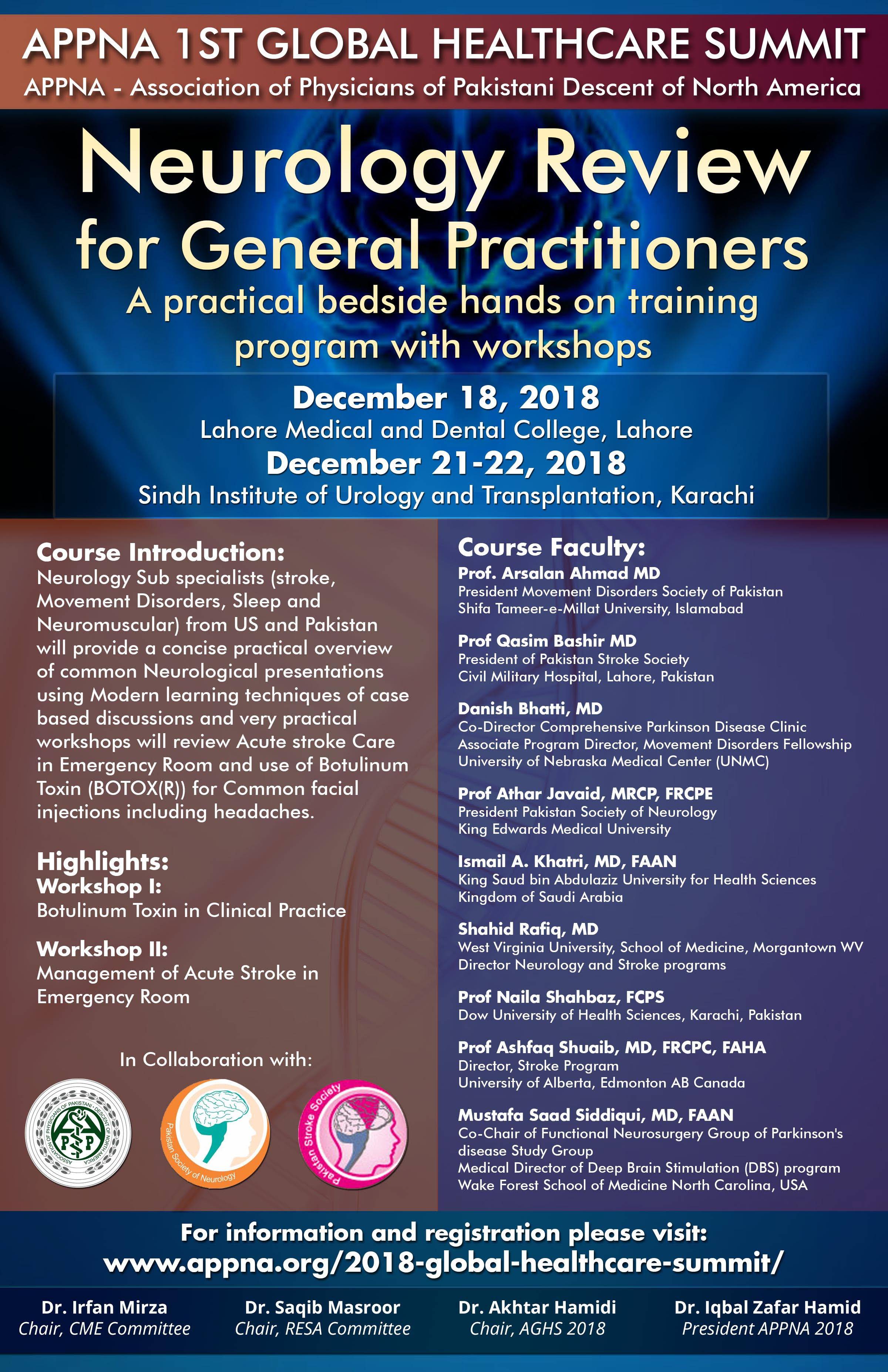 NEUROLOGY REVIEW FOR GENERAL PRACTITIONERS