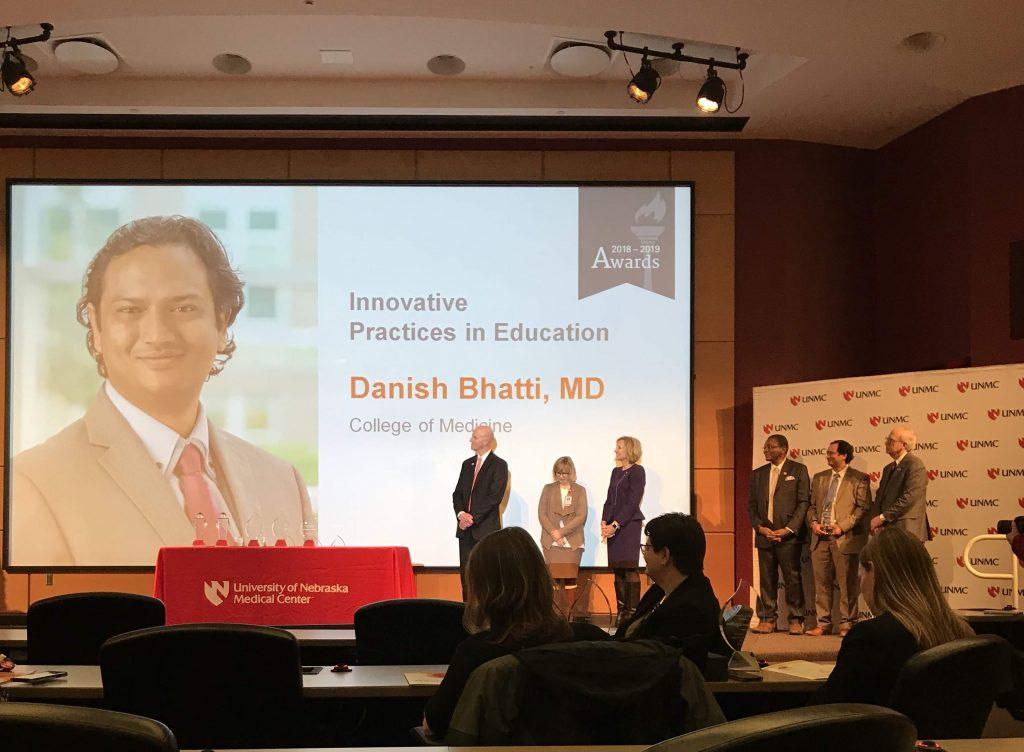 Danish Bhatti award